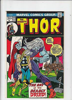 The Mighty Thor #209 VF Marvel 1972
