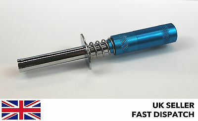 Blue Glow Plug Starter/Igniter for Nitro RC Model for standard engines 7/8mm hex