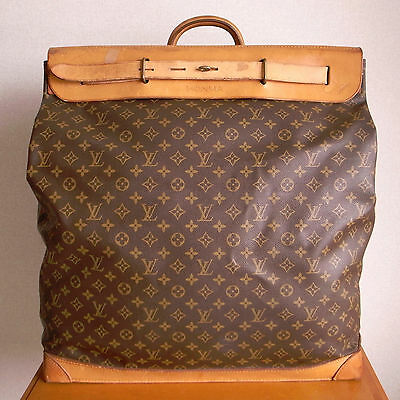 "VINTAGE LOUIS VUITTON ""STEAMER BAG 55"" discontinued size Gorgeous Bag!!"