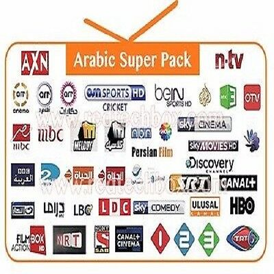 40% OFF IPTV 3 months Subscription M3U file Sports USA UK Arabic sky adult