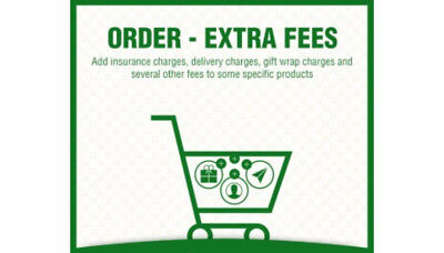 Order - Extra Fees (Shipping Charges, Additional Charges, Offers)