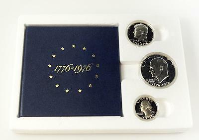1976-S Proof Set 3-Piece Bicentennial 40% Silver United States Mint * 0618