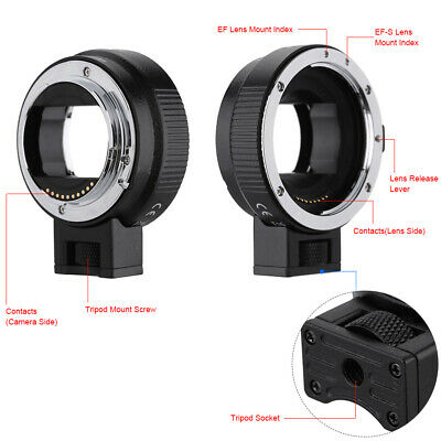 Auto Focus AF TTL Lens Adapter Ring for Canon EF EFS to SONY E NEX A7 A6000 S0G7