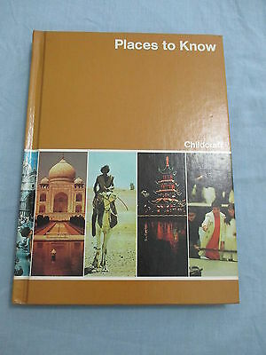 Childcraft How and Why Library Book 10 1980 Places to Know  Encyclopedia