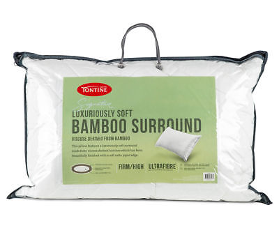 Tontine Bamboo Surround High Profile & Firm Feel Pillow RRP $59.95