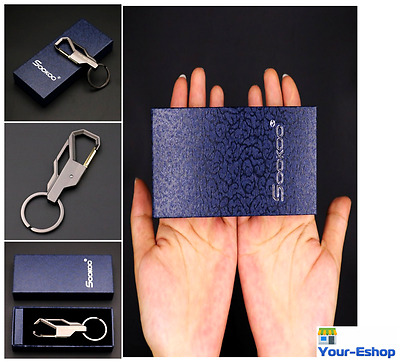 Men Key Chain Business Gift Organizer Ring For Car Motorcycle Door Accessories