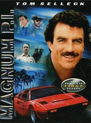 Magnum P.I.: The Complete First Season [4 Discs] (2005, DVD New) CLR