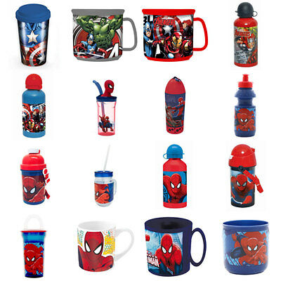 Spiderman and Avengers Cups & Bottles (Assorted)