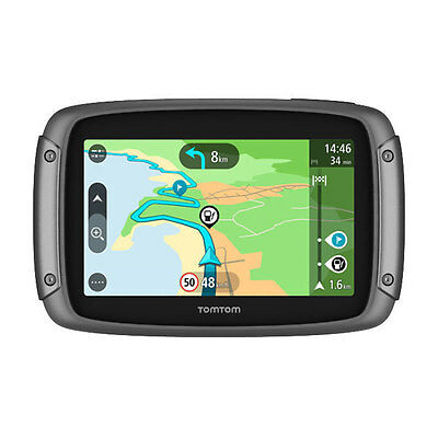 "TomTom Rider 42 Motorrad Navi Lifetime Updates Bluetooth 4,3"" Display IPX7 CE"