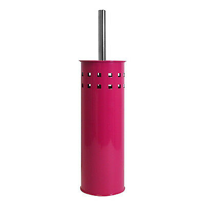 Stainless Steel Bathroom Toilet Cleaning Brush and Holder Stylish UK Stock