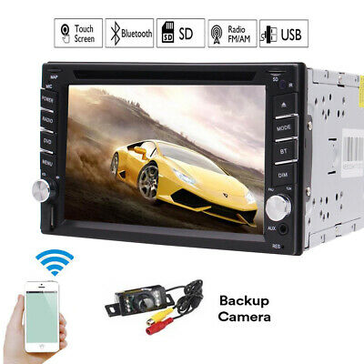 """Quad-Core Head Unit 2Din 7"""" Android 6.0 Car Stereo GPS Radio DVD Player USB WIFI"""