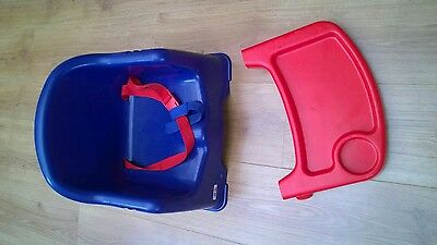 Baby Booster Seat Travel Highchair With Tray
