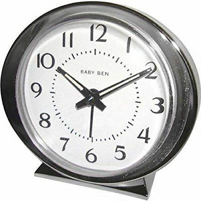 Traditional WestClox 1964 Baby Ben Reproduction Luminous Loud Bell Alarm Clock