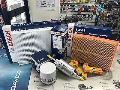 Service Kit Ford Fiesta 1.2, 1.4, 1.6, 1.8 M6/m7 All Filters + Plugs