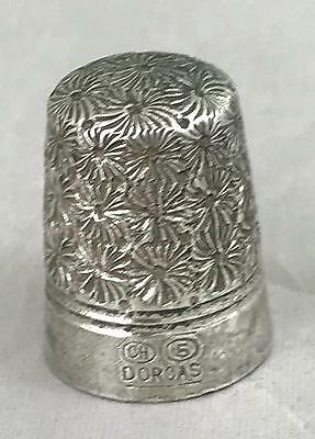 Silver Plate Charles Horner Dorcas 5 Sewing Thimble