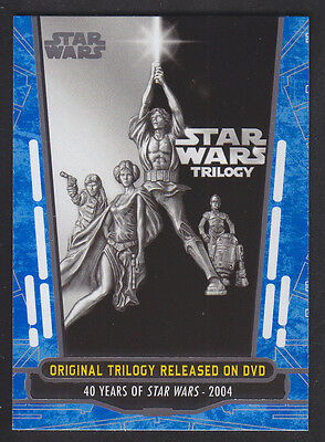 Topps Star Wars - 40th Anniversary - Blue Parallel Card # 88
