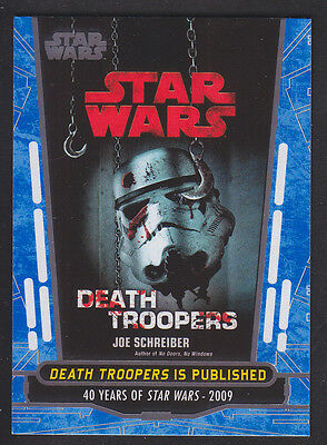 Topps Star Wars - 40th Anniversary - Blue Parallel Card # 93
