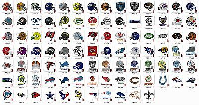 National Football League Logo Embroidery Designs (95) - CD/USB - 11 Formats