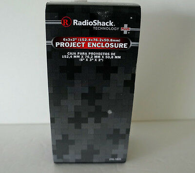 "RadioShack Project Enclosure 6x3x2"" 270-1805 NEW FREE SHIPPING"
