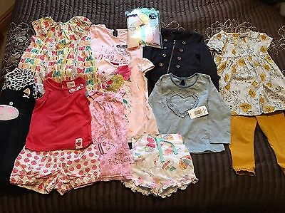 Baby Toddler Girls Age 12-18 Months Clothing Outfit Bundle Next Leggings Tops