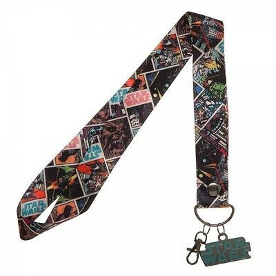 Star Wars Characters WIDE Lanyard for Pin Trading Officially Licensed Keychain