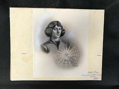 Production Artwork - Nicolaus Copernicus, Astronomer