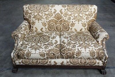 Antique Sofa Couch Settee - English Early 1900's