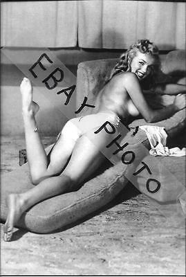 "Marilyn Monroe 4"" X 6"" Nude/risque Photo Print  #4"