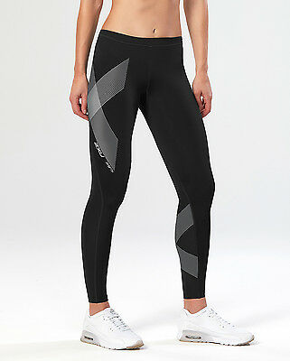 NEW 2XU Hyoptik Compression Tights Womens Compression & Base Layers