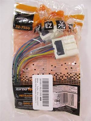 METRA 70-7550 WIRING Harness for Select 1990-2005 Nissan ... on cobra wiring harness, automotive wiring harness, garmin wiring harness, yamaha wiring harness, eclipse wiring harness, bose wiring harness, car wiring harness, pyle wiring harness, apc wiring harness, scosche wiring harness, pac wiring harness, stinger wiring harness, jbl wiring harness, mitsubishi wiring harness, emerson wiring harness, rockford fosgate wiring harness, lowrance wiring harness, chevy wiring harness, midland wiring harness, tripp lite wiring harness,
