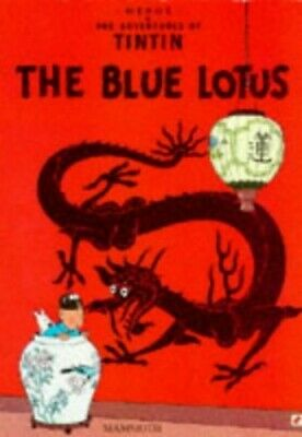 The Blue Lotus (The Adventures of Tintin) by Herge Paperback Book The Cheap Fast