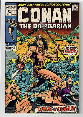 CONAN THE BARBARIAN #1 - Grade 9.2 - First comic book appearance of CONAN!