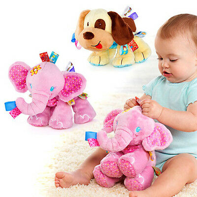 USA Elephant Puppy Dog Plush Doll Kids Soft Toy Animal Stuffed Plushie baby Gift