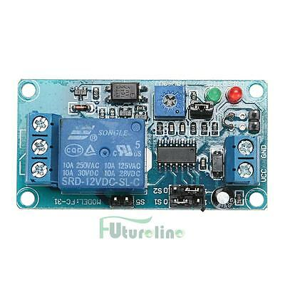 DC 12V Delay Relay Time Delay Turn on/Delay Turn off Vibration Switch Modul