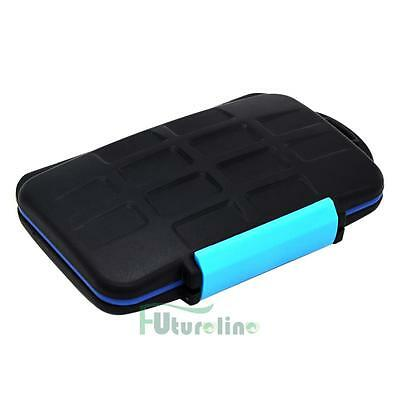 Memory Card Case Holder for 8 x SDHC Cards MC-SD8 Waterproof Anti-shock