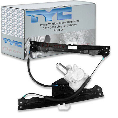 TYC Front Left Power Window Motor and Regulator Assembly for 2007-2010 sn