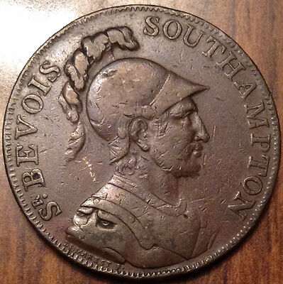 United Kingdom 1791 Halfpenny Token Southampton