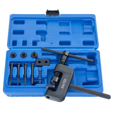 NEW Motorcycle Chain Cutter Splitter Rivetting Set Tool