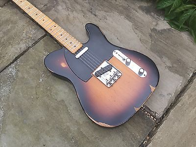 Fender Telecaster Road Worn 50s Sunburst