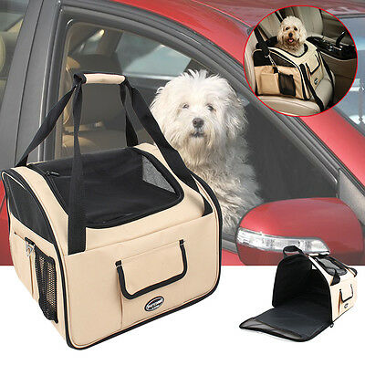 auto hundetasche transportbox hundebox tragetasche autositz katze grau oxford eur 24 90. Black Bedroom Furniture Sets. Home Design Ideas