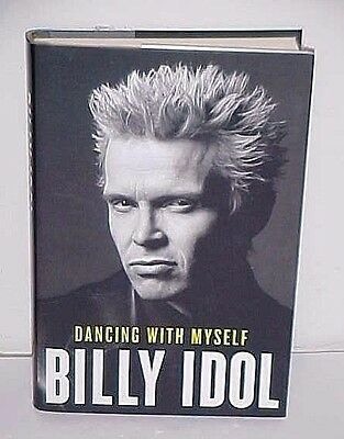 Book Billy Idol  Autograph - Signed With  Store Ticket - 1St Edition