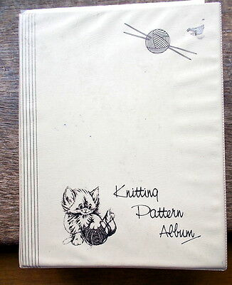 Vintage Knitting Patterns 80+ for Ladies in File Album