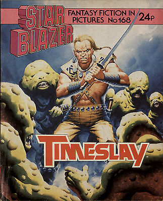 Timeslay,starblazer Space Fiction Adventure In Pictures,no.168,1986