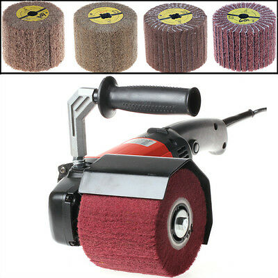 1200W 110V Burnishing Polishing Machine Polisher/Sander / & 4 Wheels Pad