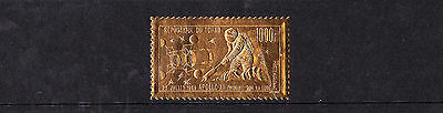 Chad - 1969 First Man On The Moon GOLD FOIL - U/M - SG 289
