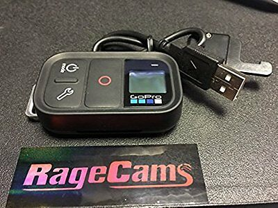 GoPro HD Hero3+Hero4 Black ARMTE-002 Smart Remote WIFI Control+USB Charger Cable