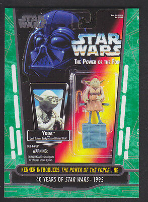 Topps Star Wars - 40th Anniversary - Green Parallel Card # 79