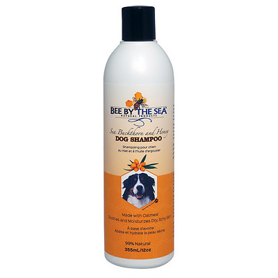Bee By The Sea Dog Shampoo 355ml, Oatmeal, 99% Natural, PH Balanced for Dogs