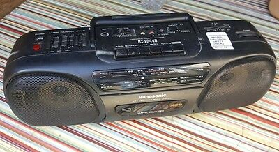 Panasonic Stereo Radio Cassette Recorder Model RX-FS440. Ghetto Blaster!