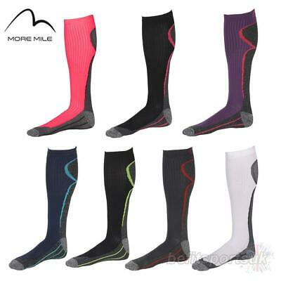 More Mile R2R Compression Womens Ladies Running Fitness Socks